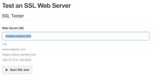 HTTPS Certificat contrôle